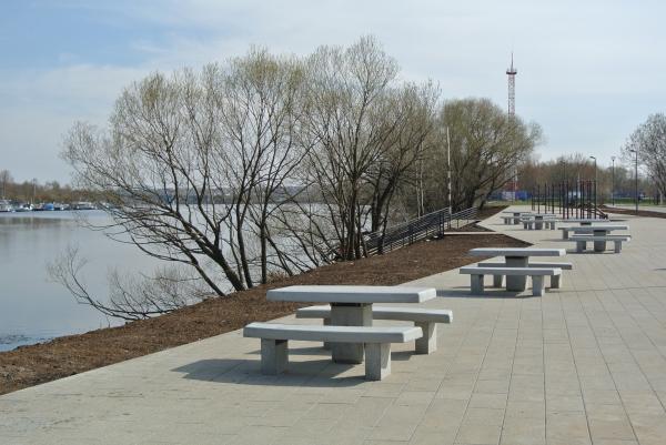 Парк «Братеевская пойма» Фотография © Практика