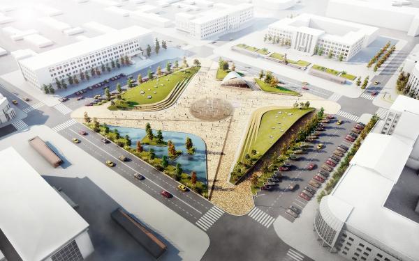 Консорциум BAZA14 + Архитектурное бюро ASADOV + S4S/Architects