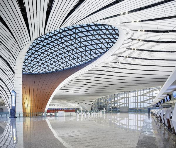 Пекинский аэропорт Дасин © Hufton + Crow