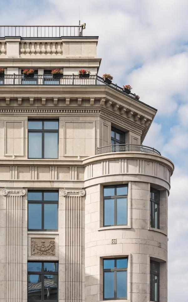 Клубный дом Art View House на набережной Мойки Фотография © Андрей Белимов-Гущин / Евгений Герасимов и партнеры