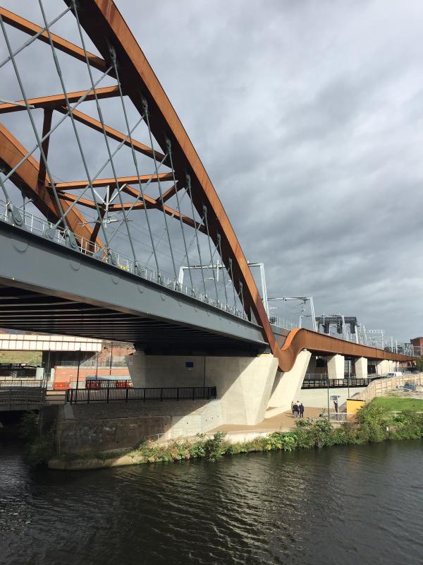 Железнодорожный мост Ордсолл-корд в Большом Манчестере Фото © Nick  Caville