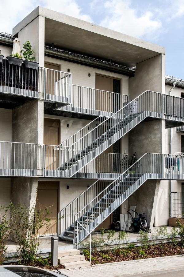 Комплекс доступного жилья для компании ABG © schneider+schumacher