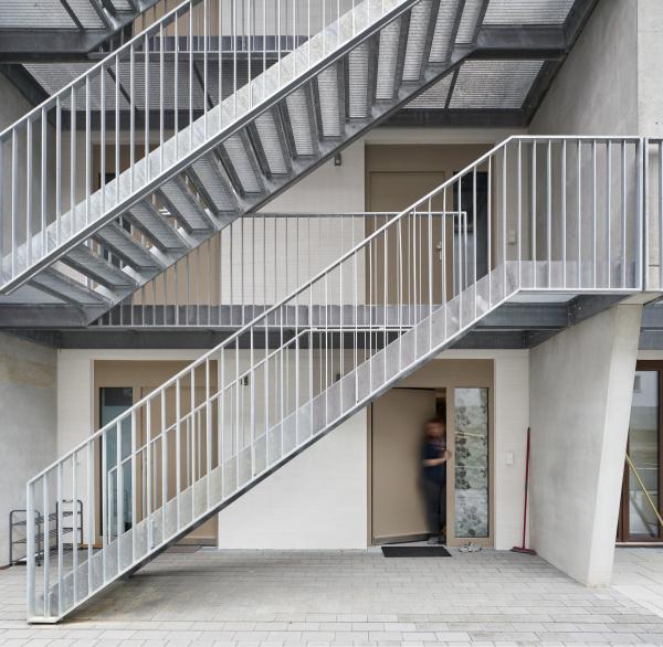 Комплекс доступного жилья для компании ABG Фото © Norbert Miguletz