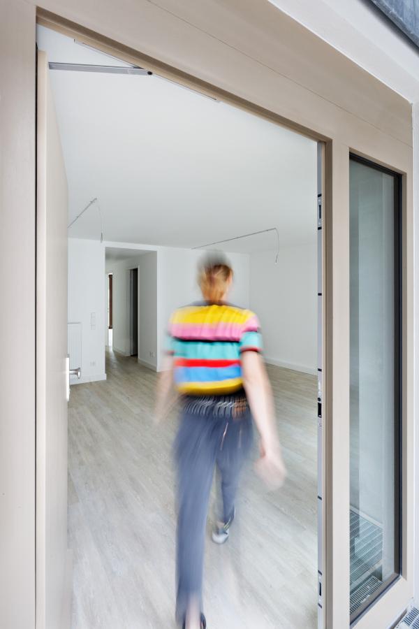 Комплекс доступного жилья для компании ABG Фото © Kirsten Bucher