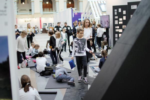 Стенд ДТС СМА. Фестиваль «Зодчество» 2019  Фотография: Архи.ру
