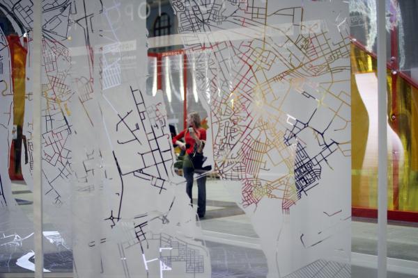 Стенд НИ и ПИ Генплана. Фестиваль «Зодчество» 2019  Фотография: Архи.ру