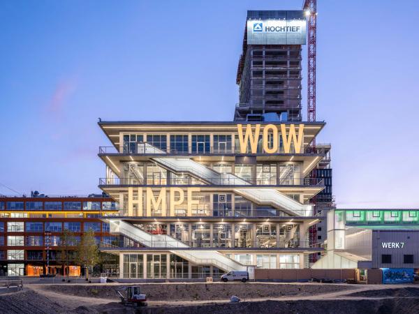 Здание WERK12 Фото © Ossip van Duivenbode