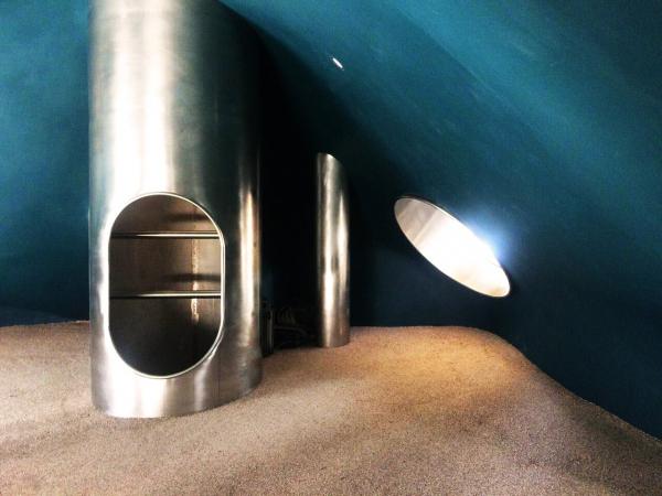 Пространство «Дюны». Внутри «Норы» Архитектурное бюро «Дружба»