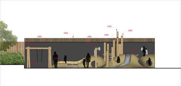 Пространство «Дюны». Фасад Архитектурное бюро «Дружба»