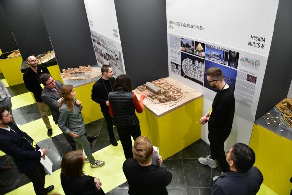 Защита проектов © предоставлено пресс-службой Российской молодежной архитектурной биеннале