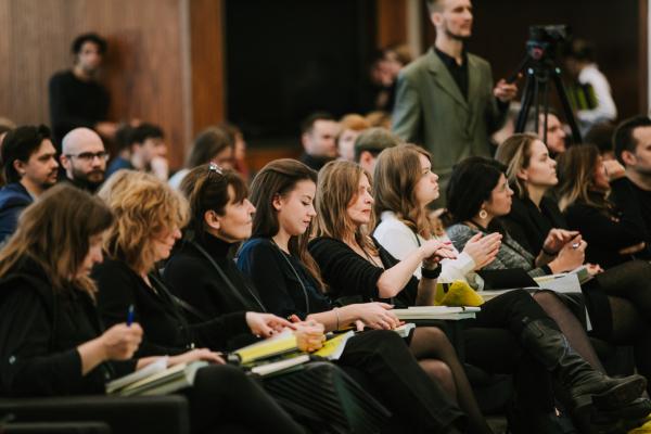 Пресс-конференция © предоставлено пресс-службой Российской молодежной архитектурной биеннале