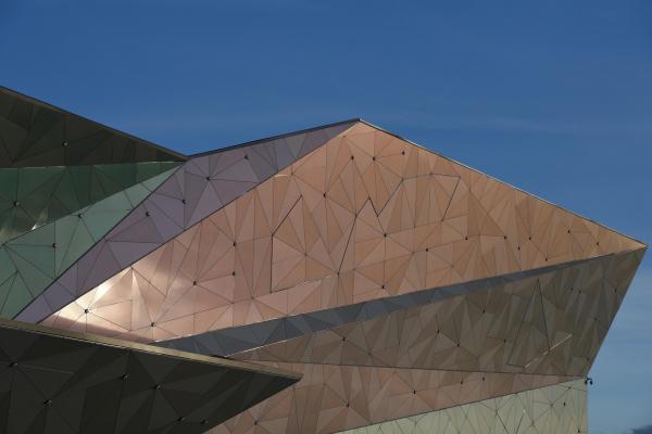 Многофункциональный торговый комплекс «Пять планет» фотография © Даниил Анненков/предоставлено АБ Totan