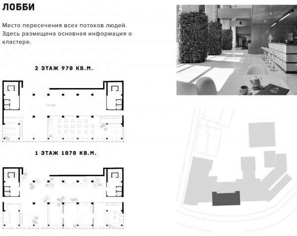 Лобби. Проект №1: Город-сад на Плутоне с технологиями XXI века. Проект победитель © RE (New)