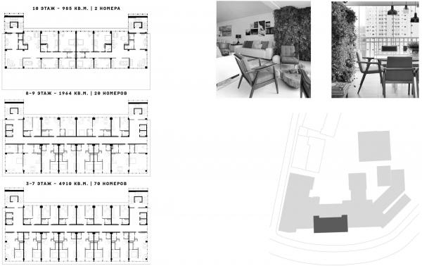 Сервисные апартаменты и пентхаусы Проект №1: Город-сад на Плутоне с технологиями XXI века. Проект победитель © RE (New)