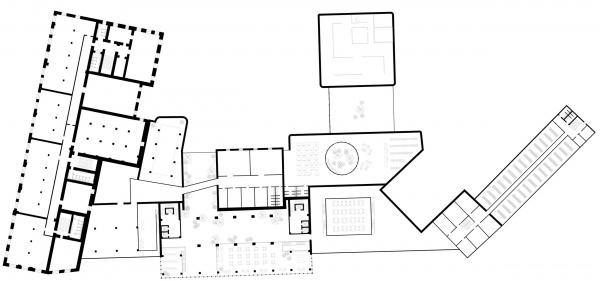 Функции совмещенные 2 этаж. Проект №1: Город-сад на Плутоне с технологиями XXI века. Проект победитель © RE (New)