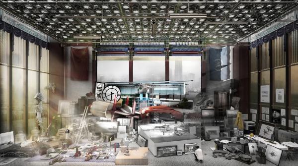 Перспективный вид проектов для Музея дворца в Гонконге (Perspective of various designs for Hong Kong Palace Museum). Автор: Ят Чи Це (Yat Chi Tse), Великобритания