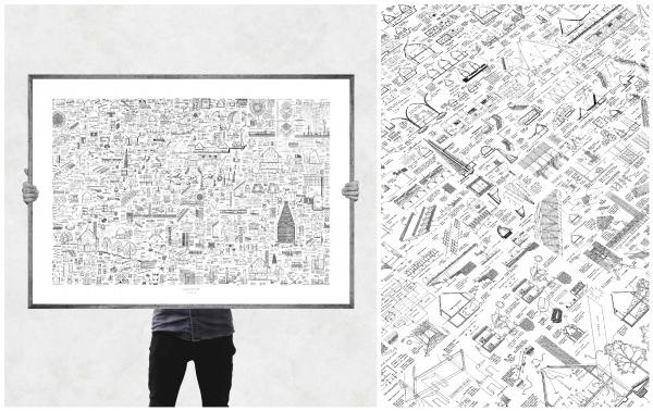 «Рисуя архитектуру» (Drawing Architecture). Автор: Майкл Льюис (Michael Lewis), Великобритания
