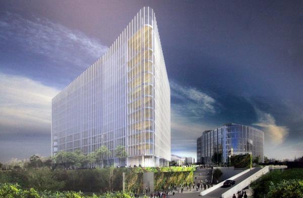 Проект нового здания для кампуса JetBrains в Санкт-Петербурге PLP, Пересъемка с планшета Дмитрия Ратникова