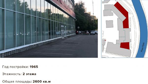 Дом на набережной (левая и правая части). Проект №2: Digital-кластер, синергия технологий и творчества © RE (New)