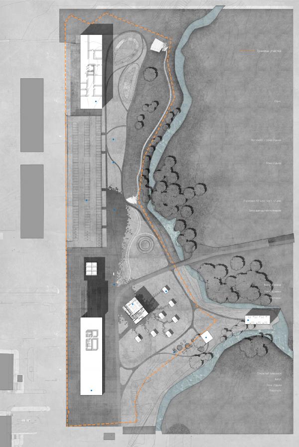 Генеральный план. Проект развития территории Мытищинской Ярмарки © Samsonov Design