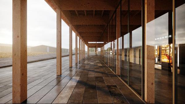 Галерея. Проект развития территории Мытищинской Ярмарки © Samsonov Design