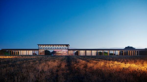 Главный вид. Проект развития территории Мытищинской Ярмарки © Samsonov Design