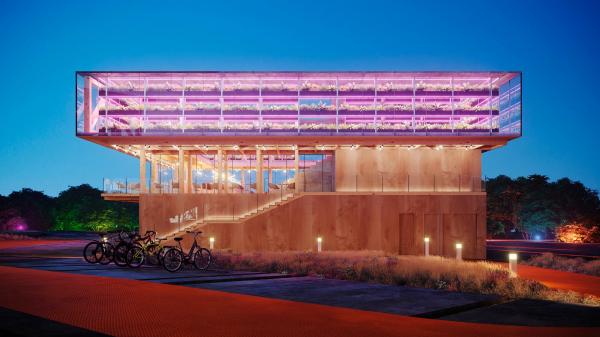 Ресторан. Проект развития территории Мытищинской Ярмарки © Samsonov Design