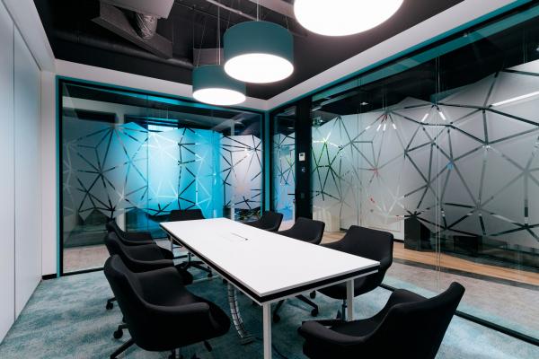 Переговорные комнаты. Офис Inspiritum Фотография © Владимир Солнцев/предоставлено Меандр