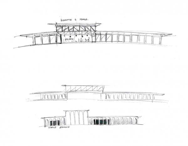Легенда I. Новый акведук.  Проект развития территории Мытищинской Ярмарки © Samsonov Design