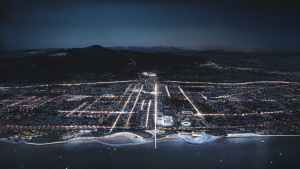Мастер-план городского округа «город Дербент». Конкурсный проект IND architects + ADEPT + SWA + Knight Frank + RussiaDiscovery