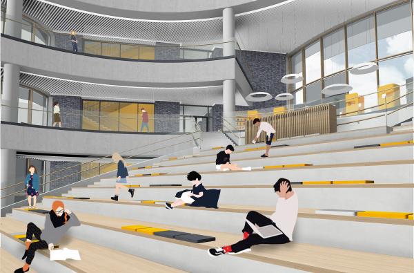 Амфитеатр. Школа Wunderpark © Archstruktura/предоставлено PR-студия «ЛЮДИ»