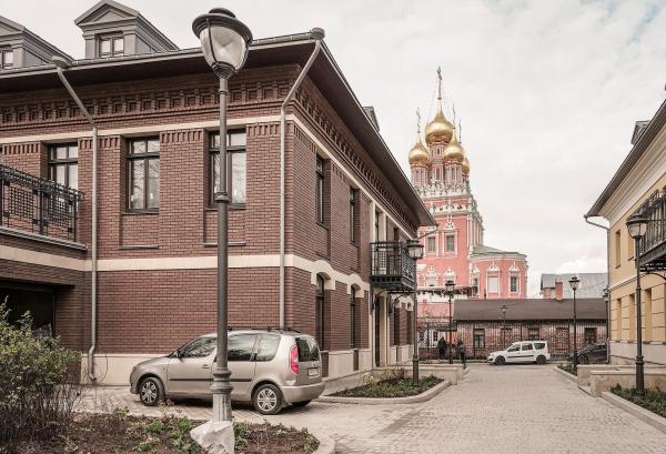 ЖК «Меценат» в Кадашах Фотография © Илья Уткин