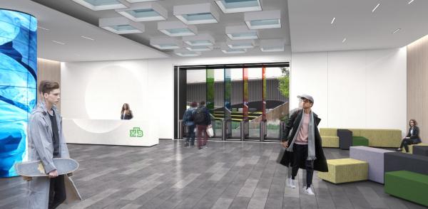 Дизайн-концепция новой штаб-квартиры телекомпании НТВ © UNK Project