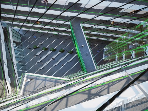 Дизайн-концепция новой штаб-квартиры телекомпании НТВ © Arch Group