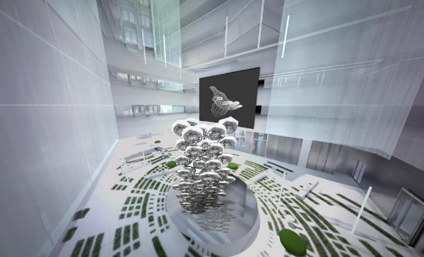 Дизайн-концепция новой штаб-квартиры телекомпании НТВ OFFCON