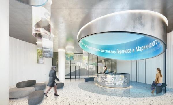 Дизайн-концепция новой штаб-квартиры телекомпании НТВ © T+T architects
