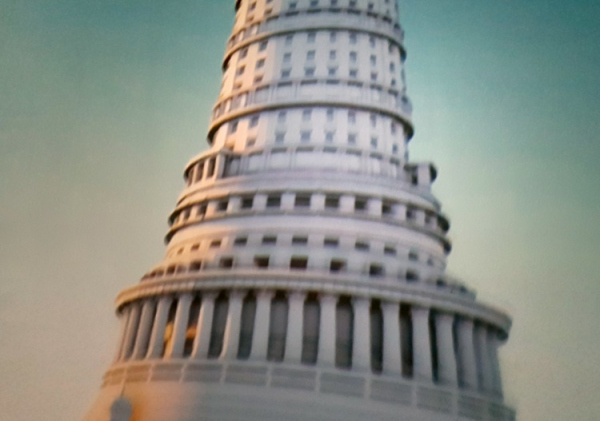 Диарама: Международный центр. Выставка «Общественная архитектура – будущее Европы», ГНИМА Рабочая группа идеальных пространств / пересъемка ролика