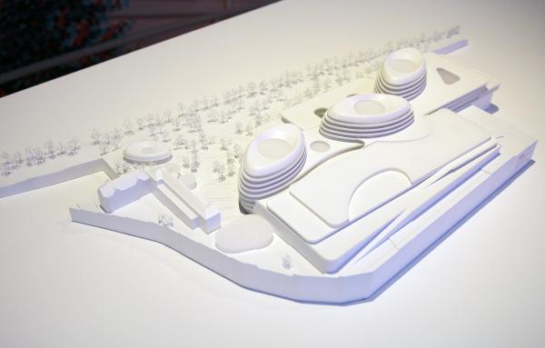 LAVA: проект павильона Германии на ЭКСПО 2020. Выставка «Общественная архитектура – будущее Европы», ГНИМА Фотография: Архи.ру