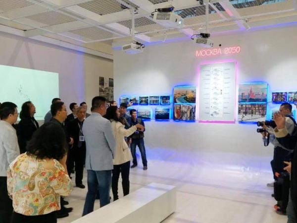 «Москва 2050» в российском павильоне на Биеннале архитектуры и урбанизма в Шэньчжэне Предоставлено пресс-службой Шухов Лаб
