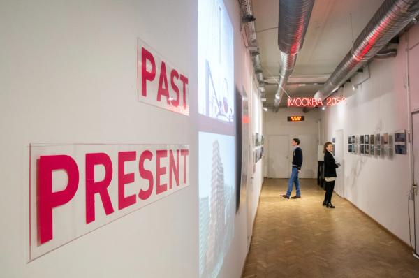 Выставка «Москва 2050» в галерее Шухов Лаб © Высшая школа экономики/ Михаил Дмитриев