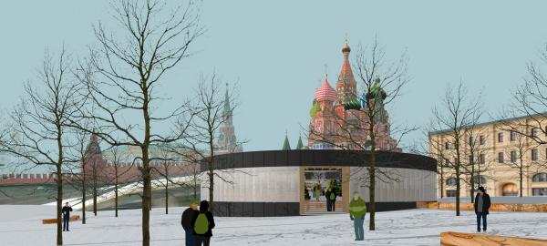 Павильон Снегосад в Зарядье © Лавка