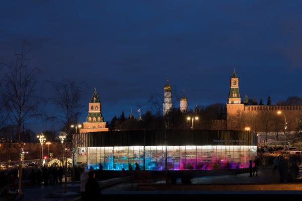 Павильон Снегосад в Зарядье Фотография © Илья Иванов