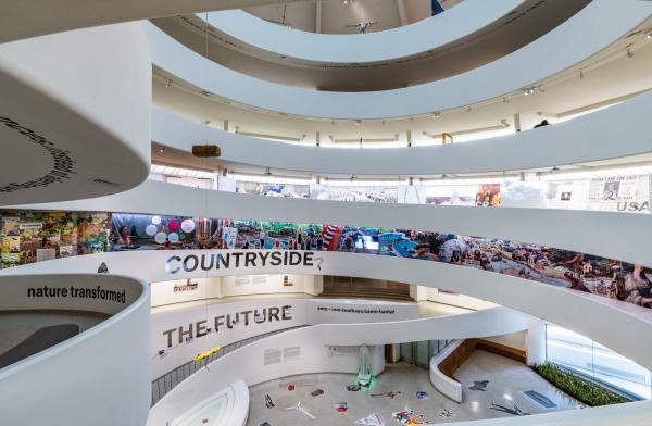 Countryside, The Future. Выставка Рема Колхаса в музее Гуггенхайма в Нью-Йорке Фотография: David Heald © Solomon R. Guggenheim Foundation