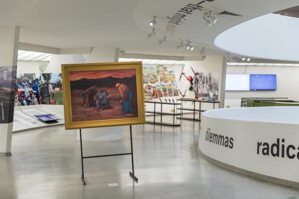 Countryside, The Future. Выставка Рема Колхаса в музее Гуггенхайма в Нью-Йорке Фотография © Laurian Ghinitoiu / предоставлено AMO