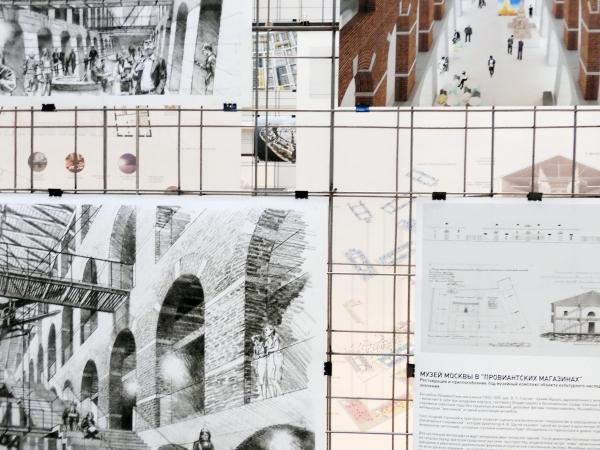 Студия 44. Анфилада. Открытие выставки, 02.2020 Фотография: Архи.ру
