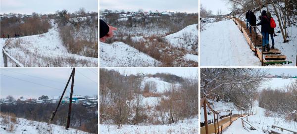 Фотофиксация участка. Создание парка «Крымская горка» в г. Новохоперск © ПГС Проект