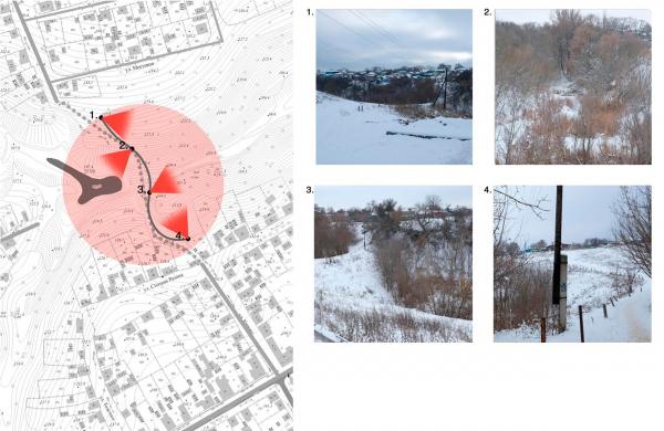 Ландшафтно-визуальный анализ. Создание парка «Крымская горка» в г. Новохоперск © ПГС Проект