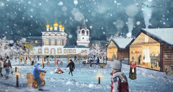 Соляная верста © ISAEV Architects