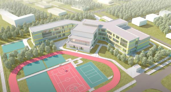 Общеобразовательная школа на 275 мест © Архитектурное бюро ASADOV, Академпроект