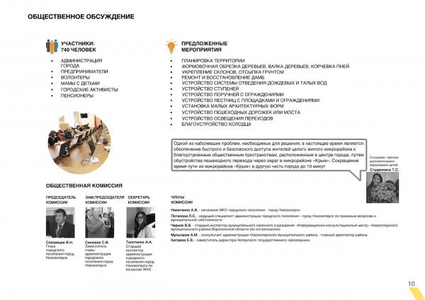 Общественное обсуждение. Создание парка «Крымская горка» в г. Новохоперск © ПГС Проект